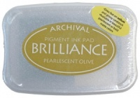 Brilliance Ink Pad - Pearlescent Olive