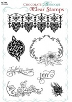 Ivy Trails Clear stamp sheet -  A5
