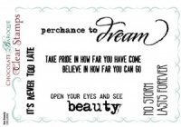 See Beauty Clear stamp set