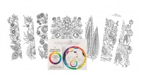 Chocolate Baroque A4 Colouring Pages Kit - Limited Edition incl Colourwheel and Mixing Guide