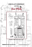 Kim Moody -  The Posh House! A6  rubber stamp set