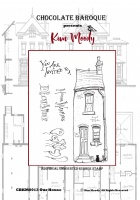 Kim Moody -  All four A6 House and Shop rubber stamp sets