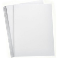 A4 White Silk Board 350gsm - 5 sheets
