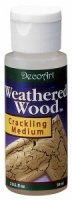 Deco Art Weathered Wood Crackling Medium