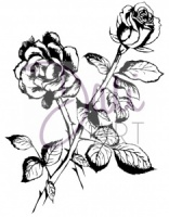 DaliART Clear Stamp - Rose