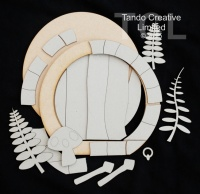 Tando Creative - Round Faery Door Kit