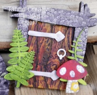 Tando Creative - Rectangular Faery Door Kit