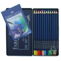 Faber-Castell Art Grip Aquarelle Pencils - 12 Tin