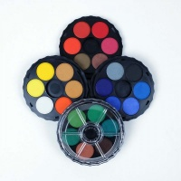 Koh-I-Noor Brilliant Water Colour Palette - Set of 24