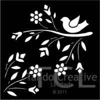 Tando Creative Mask - Bird and Branch