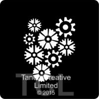 Tando Creative Mini Mask - Cogs