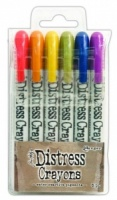 Tim Holtz Distress Crayons - Set 2