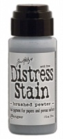 Tim Holtz Distress Stain Brushed Pewter