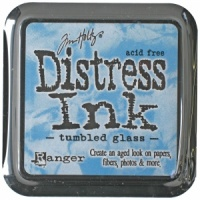 Tumbled Glass Distress Ink Pad
