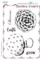 Mother Earth Rubber Stamp sheet - A5