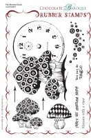 The Shroom Clock Rubber Stamp sheet - A5