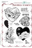 A Heart Full of Love Rubber Stamp sheet - A5