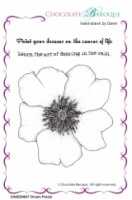 Dream Petals unmounted rubber stamp set - A6