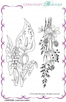 Lords and Ladies unmounted rubber stamp set  - A6