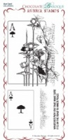 Ace Card Rubber Stamp sheet - DL
