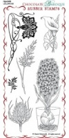 Hyacinth Rubber Stamp Sheet - DL