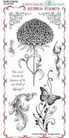Breath of Spring Rubber Stamp Sheet - DL