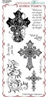 With Sympathy Rubber Stamp Sheet - DL