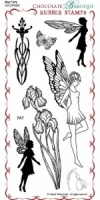 May Fairy Rubber Stamp sheet - DL