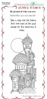 Acorn House Rubber Stamp sheet - BM