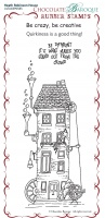 Heath Robinson House Rubber Stamp sheet - BM