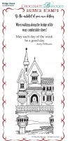 Bridge House Rubber Stamp sheet - BM