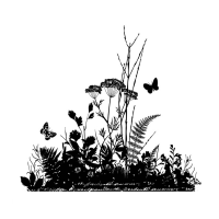 Crafty Individuals - Ornamental Grasses Silhouette
