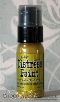 Tim Holtz Distress Paint - Crushed Olive