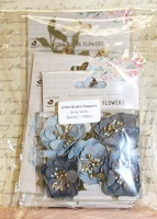 Little Birdie Flowers Multi-buy - Grey Skies 3 packs 29pcs