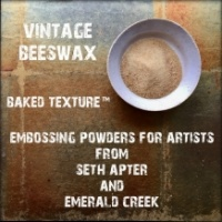 Seth Apter Baked Texture Embossing Powder - Vintage Beeswax
