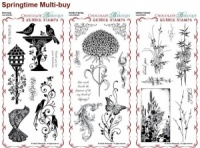 Springtime Collection Rubber Stamps Multi-buy - DL